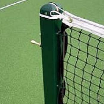 tennis net post square