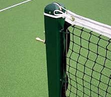 tennis net post square