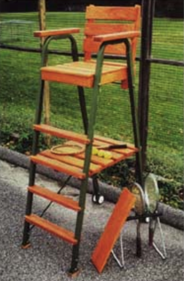 tennis umpire life guard chair & Umpire / Lifegaurd Chair - Lu0026M Distribution Inc.
