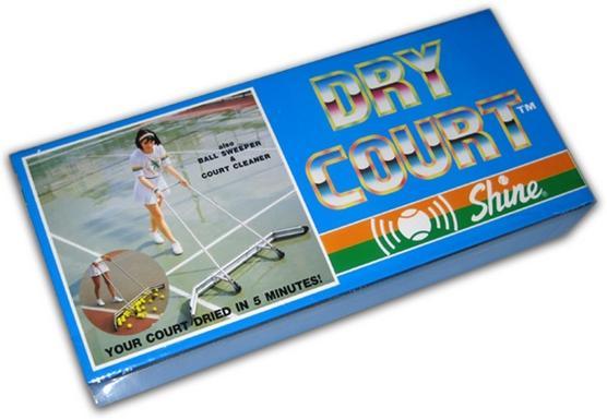 dry court tennis court squeegee