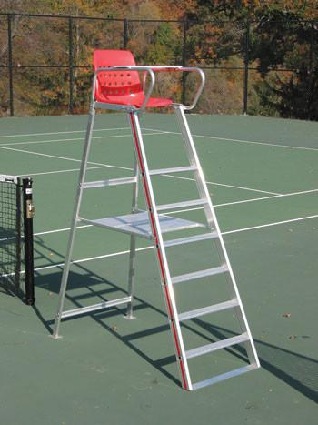 tennis court umpire life guard chair