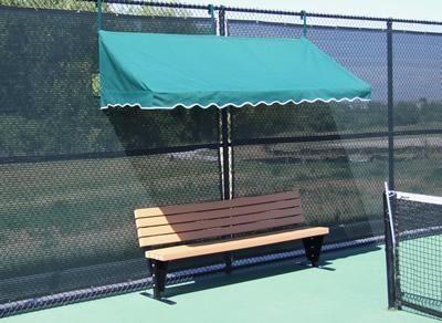 fence cabana canopy