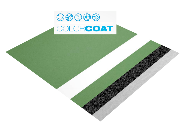 laykold court surfacing color coat