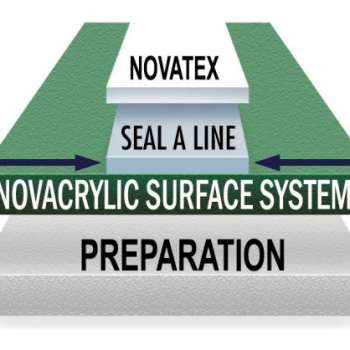 nova court surfacing seal a line