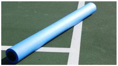 tennis court replacement roller