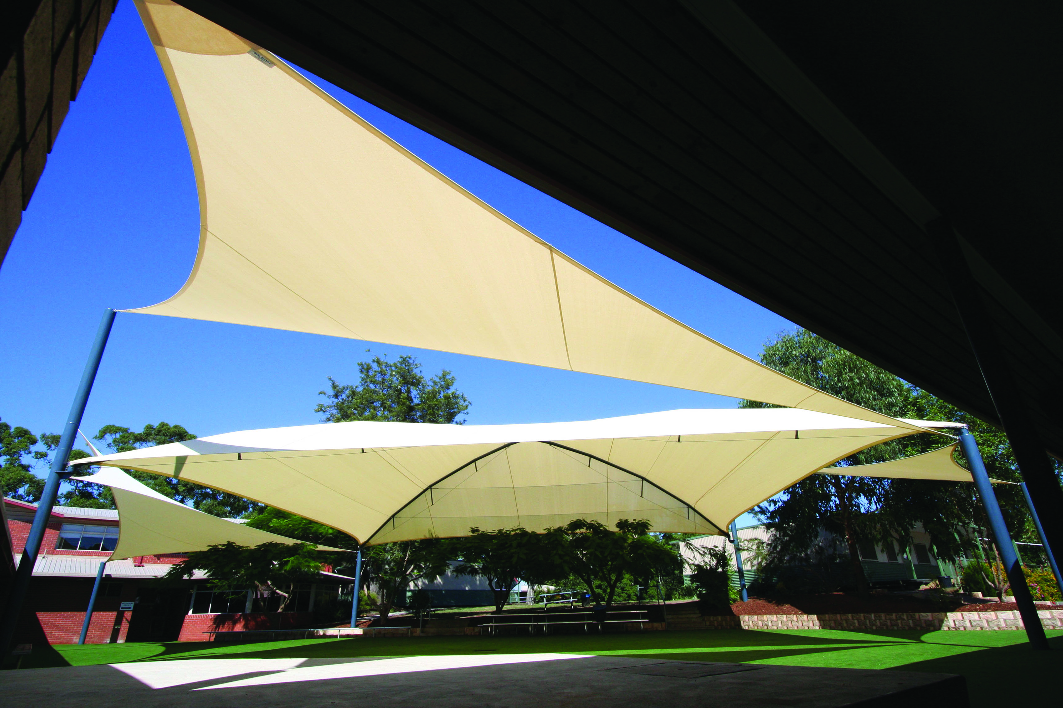 industrial fabric shade sail