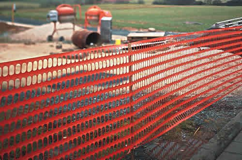 industrial fabric barrier fence