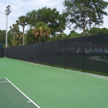 tennis court screen industrial fabric